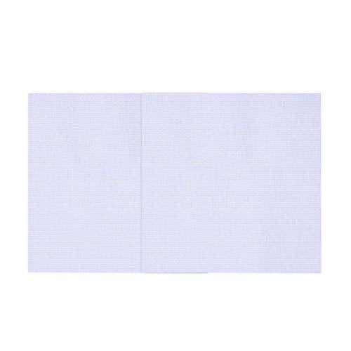 Onepine 2 Stück Kreuzstich Tuch 11 Count Aida Stoff,Sticken Stoff 30 cm x 30 cm Weiß