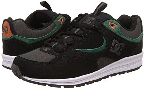 DC Shoes Kalis Lite - Chaussures pour homme ADYS100291 Black/Green/Grey