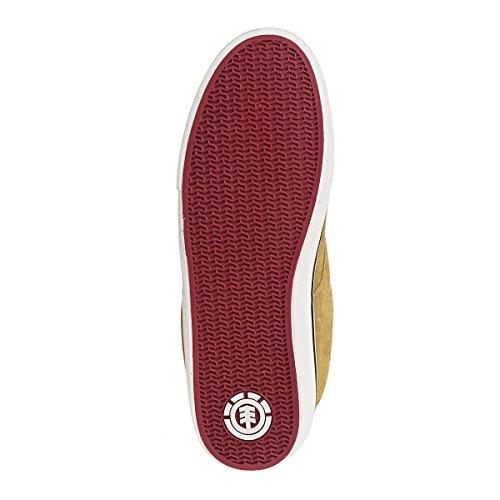 Element TOPAZ C3 A Herren Sneakers braun/weiß/rot