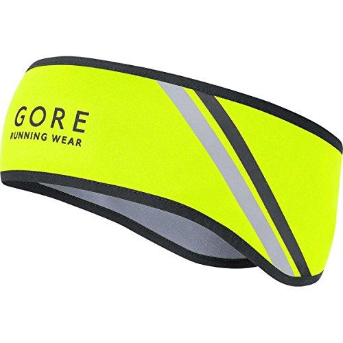 GORE RUNNING WEAR Herren Warmes Lauf-Stirnband, GORE WINDSTOPPER, MYTHOS 2.0 Headband, Größe ONE, Neon Gelb, HBWMYT