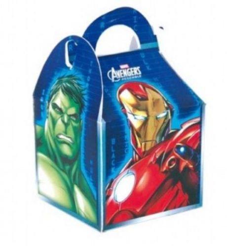 Avengers Assemble Party Boxen x 6