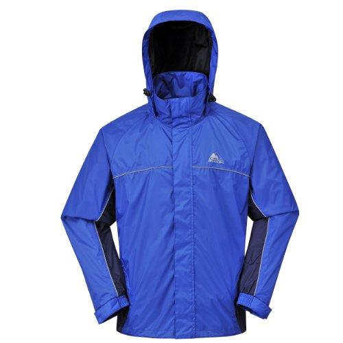 Cox Swain Funktions -/ Regenjacke Helki - 5.000mm Wassersäule / 3.000mm Atmungsaktivität, Colour: Blue/Navy, Size: L