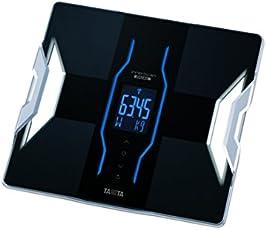 Tanita RD-953 Bluetooth 4 Low Energy Körperanalyse-Waage mit medizinischer Technologie, Schwarz