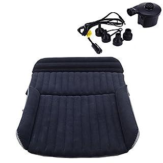 LABABE Auto SUV Luftmatratze Doppelbett Bewegliche , aufgerüsteten Version Luftbett für Auto Matratze aufblasbares Bett Air Bett für Reisen Camping , Kostenlose mit Pumpe
