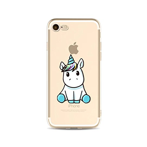 LAIXIN Case Cover für iphone 6 /iphone 6s hülle Design Glitzer Handyhülle aus weichem TPU | Handytasche | Handy-etui | TPU-cover | soft case optimalen Schutz iphone 6 /iphone 6s 4.7 – Baby Einhorn Unicorn