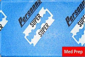 5 lames Personna Med Prep (1 paquet)