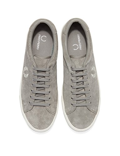 Fred Suede Perry Perry Underspin Sneaker Underspin Suede Gris Uomo Uomo Grigio Fred ppr0Za