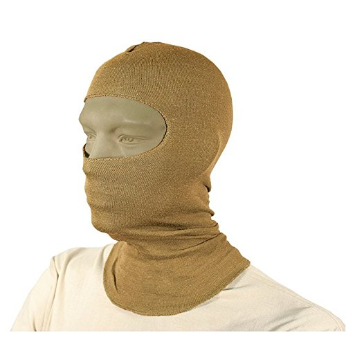 Lightweight Balaclava with Nomex, Coyote -