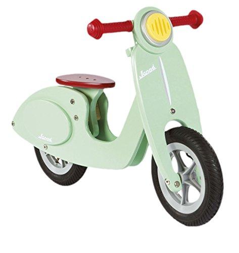 Janod Holzspielzeug - Bikloon Laufrad Scooter Mini Roller Holz,  Mint
