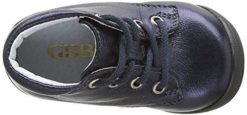 GBB Naomi, Chaussures Premiers Pas Bébé Fille Bleu (12 Vte Marine Dpf/Kezia)