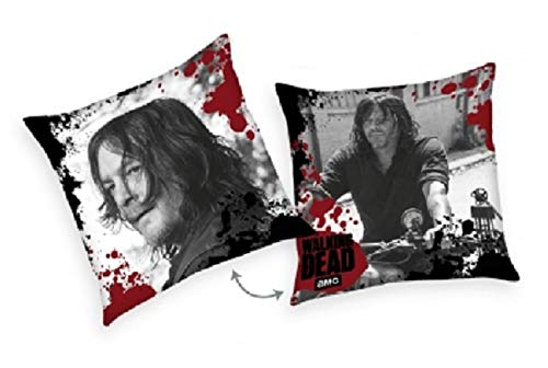 Unbekannt 2er Pack The Walking Dead Kissen 40x40 cm Daryl Dixon Dekokissen Wendekissen Set