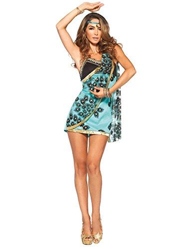 Heisse Sirene Damenkostüm Meerjungfrau blau braun M