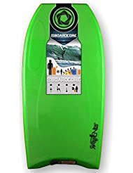 Tabla de bodyboard Raven core 101.6 cm/101 cm verde