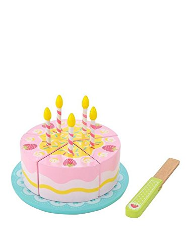 Early Learning Centre 140124 Wooden Birthday Cake