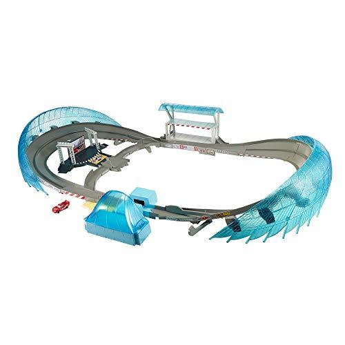 Mattel FCW02 - Disney Cars 3 Ultimate Florida Speedway Rennstrecke, Auto Rennbahn für Spielzeugautos, Kinder Spielzeug ab 4 Jahren - Spielzeug-rennstrecke