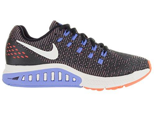 ... Nike Damen W Air Zoom Structure 19 Laufschuhe Gris (Anthrct / Sl-Hypr  Orng
