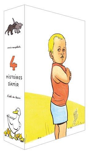 4 histoires d'Amir : Coffret 4 volumes : Canards, chatons, mouche, tracteur