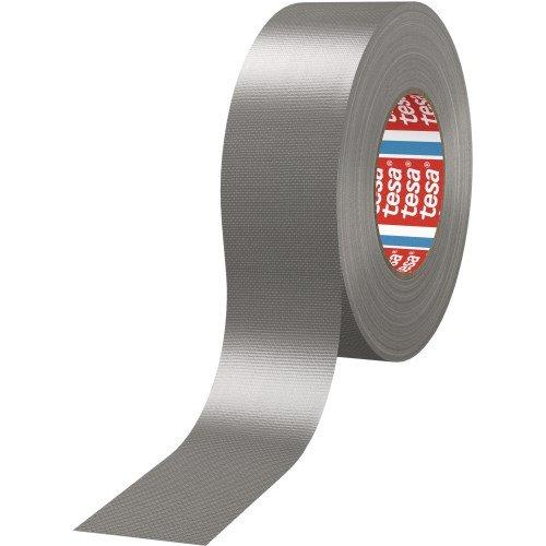 tesa H0468847 4688 Gaffer Tape, Silber, 50mm x 25m