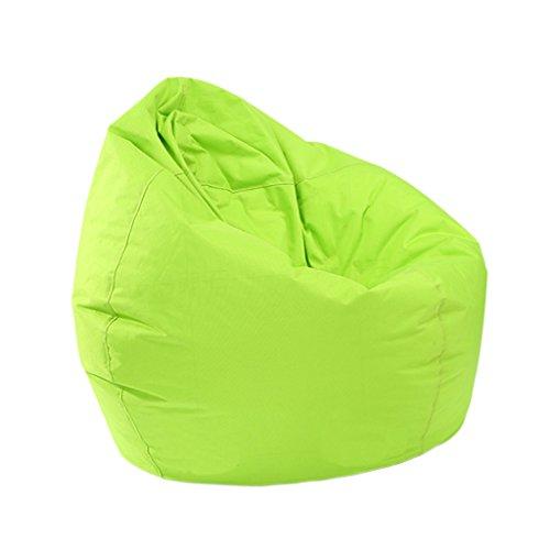 Homyl Sitzsack Bezug Bean Bag Sessel Sitzkissen Bezüge Abdeckung für Kinder - Grün