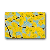 Dalliy Personal Custom ginkgo Fu?matten Doormat Outdoor Indoor 23.6