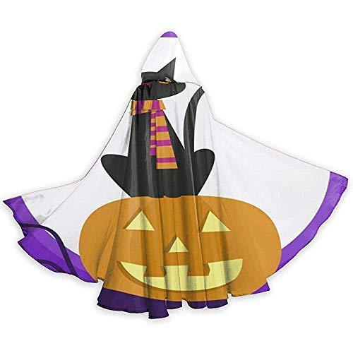 BYME Erwachsenen Mantel Unisex Halloween Kostüm Halloween Schwarze Katze Cosplay Mantel (Teenager Schwarze Witwe Kostüm)