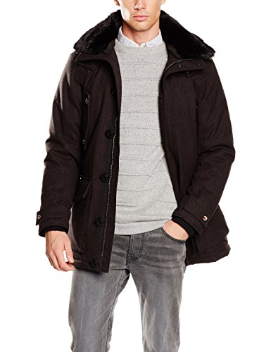 Petrûs Herren Jacke Onyx, Schwarz (Black Coffee 006), Medium