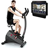 Sportstech Exercise Bike ESX500 with smartphone...