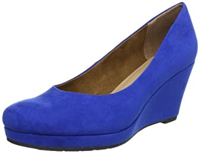 Tamaris-TREND 1-1-22449-20, Damen Pumps, Blau (ROYAL 838), EU 40