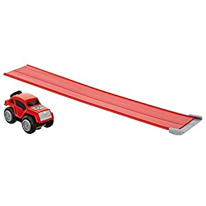 MAX Mini Camiones Cuerpo de Oruga Playset (Rojo)