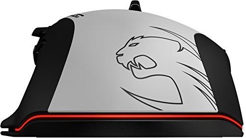 Roccat Tyon All Action Multi-Button Gaming Laser-Maus (8200dpi, 14-Tasten, USB) weiß - 8