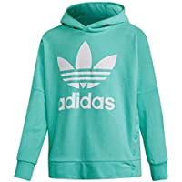adidas J adibreak Top Felpa, bambino, Bambino, DH2678_164 (13/14 años), blu (mencla)/bianco, 164 (13/14 años)