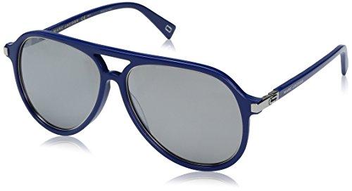 Marc Jacobs Herren MARC 174/S T4 PJP 58 Sonnenbrille, Blau (Bluette/Black Fl), -