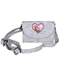 fb387c49112c5 Zwillingsherz Oktoberfest Damen Tasche - Hochwertiges Dirndl Accessoires -  Umhängetasche Filztasche für Frauen Mädchen…
