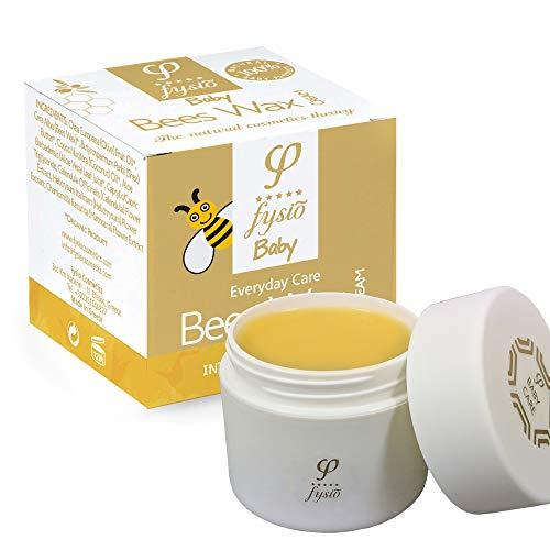 Bienenwachs Windelcreme Naturkosmetik | Baby Feuchtigkeitscreme | Hergestellt aus Natürlichen Inhaltsstoffen | Bietet Schutz und Feuchtigkeit - Nicht-allergene Feuchtigkeitsspende | 50ml