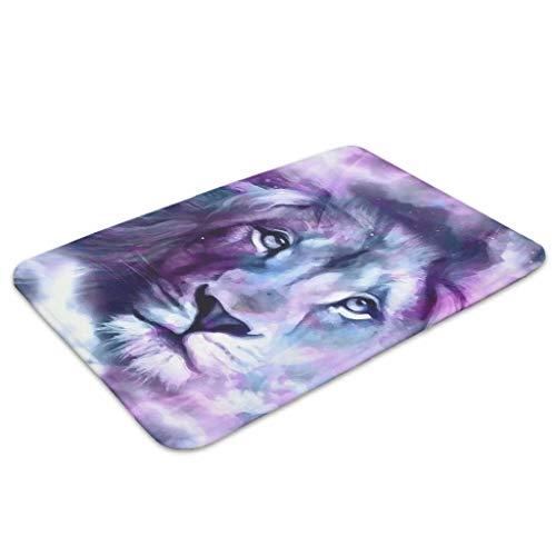 EPLstar Spiegelmatten für Innen- und Außenbereich, Motiv: Tiger, Löwe, 45 x 70 cm, weiß, 18x30 inch