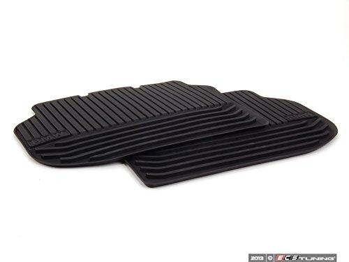 Preisvergleich Produktbild Original BMW Gummifußmatten hinten für 5er F10 F11 - bis 07/13