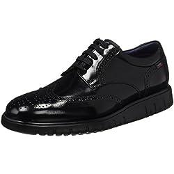 Callaghan Amon, Zapatos de Cordones Oxford para Hombre, Negro