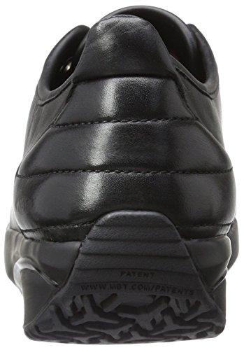 MBT Damen Batini Niedrige Sneaker, Black Coffee Nappa Nero (Black Nappa)