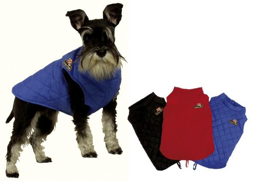 Artikelbild: KARLIE Hundemantel DOG COAT schwarz 48cm
