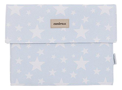 cambrass Etoile Protège-Carnet de Santé Bleu 3 x 17 x 25 cm Cambrass