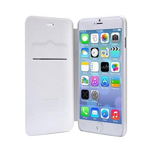 Nillkin Sparkle Klappschutzhülle Leder Schutzhülle für Apple iPhone 6Plus–parent weiß