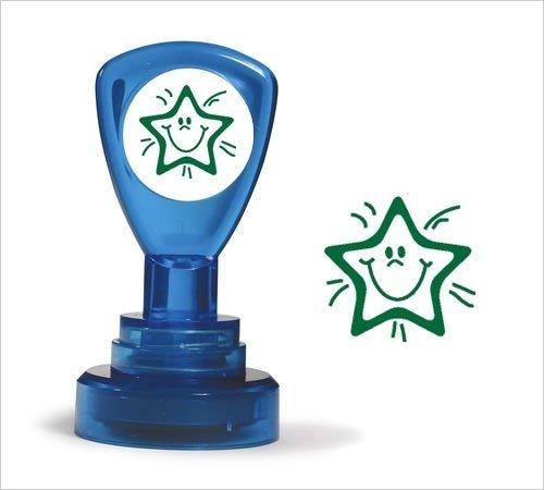 stamper-solutions-smiley-star-pre-inked-stamper-green