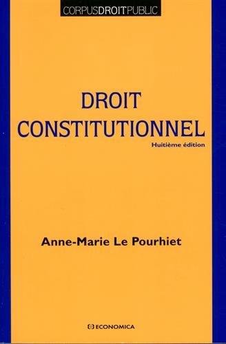 Droit Constitutionnel, 8e ed. (le)