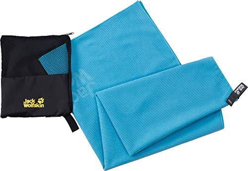 Jack Wolfskin Unisex- Erwachsene Barrier Towel Handtuch, Turquoise, ONE Size