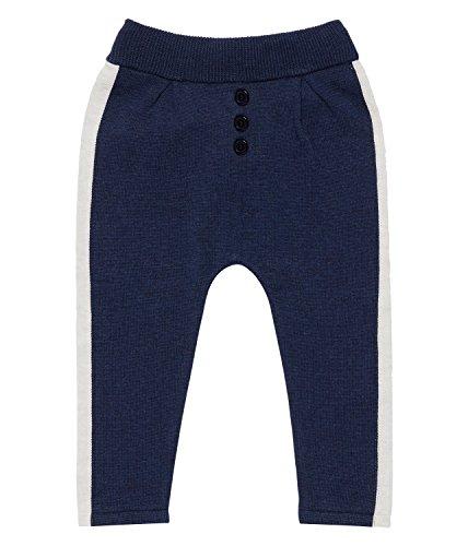 Sense Organics Unisex Baby Leggings Pablo Strickleggings Gots-Zertifiziert, Blau (Navy Melange 200065), 68 (Herstellergröße: 3M) (Cotton Knit Leggings)