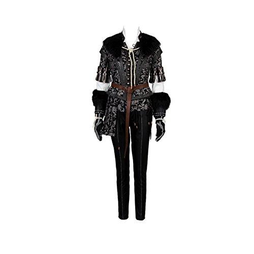 Witcher 3 Wild Hunt Yennefer Outfit Cosplay Kostüm LeistungskleidungHerren ()
