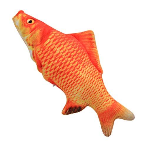 DF-ES 20 cm Catnip Catmint Cat Favour Simulation Fish