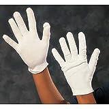 Guanti in cotone bianco da 20 pezzi - Guanti da lavoro L 7,5