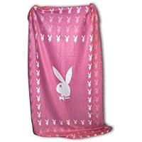 Playboy–Coperta in pile, Bunny Square rosa 150x 200cm