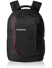 Lenovo Laptop Bag 15.6 Inch Backpack (Red :Black)